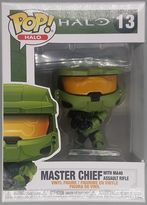 #13 Master Chief (with MA40 Assault Rifle) - Pop Halo
