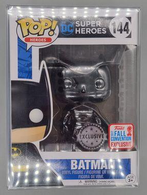 #144 Batman (Black) Chrome - DC - 2017 Con Exc