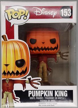 #153 Pumpkin King Pop Disney Nightmare Before Christmas