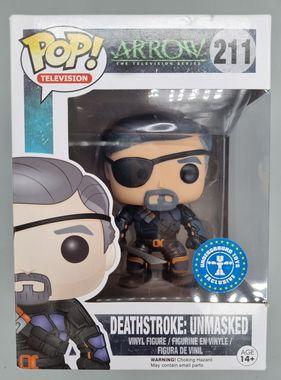 #211 Deathstroke: Unmasked - Arrow - Exclusive