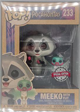 #233 Meeko (with Flit) - Disney - Pocahontas - Exclusive