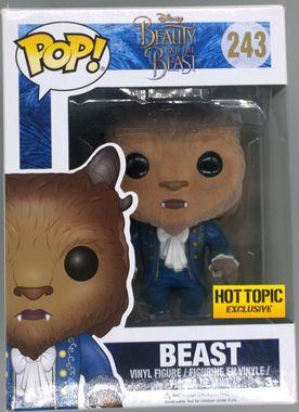 #243 Beast - Flocked - Disney Beauty & The Beast