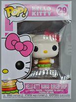 #29 Hello Kitty (Kawaii Burger Shop) Pop Sanrio Hello Kitty