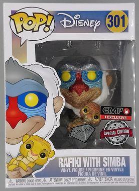 #301 Rafiki with Simba - Diamond - Pop Disney - Lion King