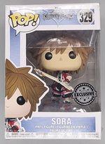 #329 Sora (Brave Form) Disney Kingdom Hearts - BOX DAMAGE