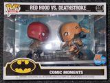 #336 Red Hood vs. Deathstroke 30,000 Ltd - BOX DAMAGE