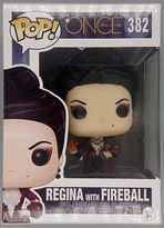 #382 Regina with Fireball - Once Upon a Time BOX DAMAGE