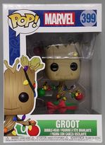 #399 Groot (w/ Lights & Ornaments) - Pop Marvel - Holiday