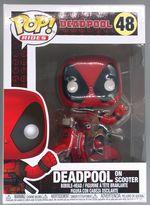 #48 Deadpool (on Scooter) - Rides - Marvel Deadpool