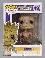 #49 Groot - Pop Marvel - Guardians Of The Galaxy