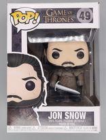 #49 Jon Snow - Pop Game of Thrones - BOX DAMAGE