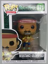 #571 Resistance Goldenfold - Pop Animation - Rick and Morty