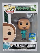 #574 Tracksuit Jerry - Pop Animation Rick and Morty - SDCC