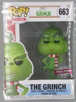#663 The Grinch (w/ Scarf) - Pop Movies - Special Edition