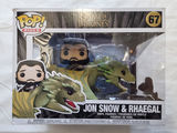 #67 Jon Snow & Rhaegal - Pop Rides - Game of Thrones
