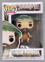 #843 Alan Parrish - Pop Movies - Jumanji - BOX DAMAGE