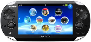 Sony PS VITA Console 3G/Vodafone SIM Card - Black