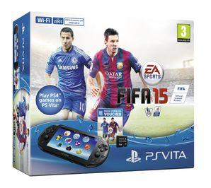 Sony PS Vita WiFi Console FIFA 15 Voucher + 4GB Memory Card