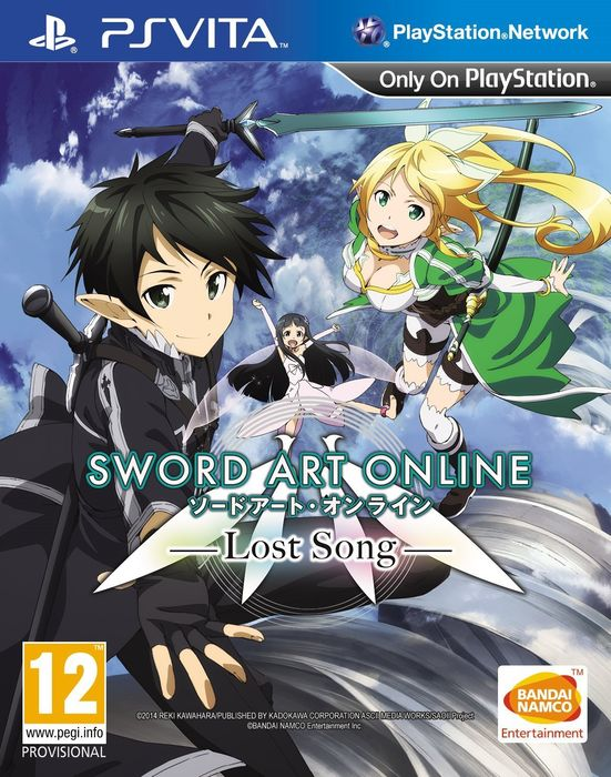 Sword Art Online: Lost Song announced for PS3 and PS Vita