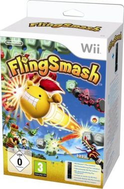 FlingSmash bundle with Wii Remote Plus Controller
