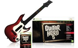 Guitar Hero 5 with Guitar