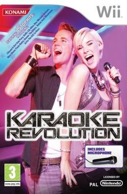 Karaoke Revolution with Microphone