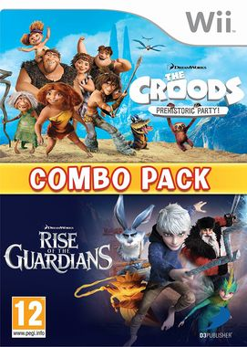 The Croods: Prehistoric Party & Rise of the Guardians Pack