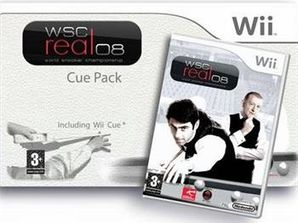 WSC Real 08: World Snooker Championship Cue Pack