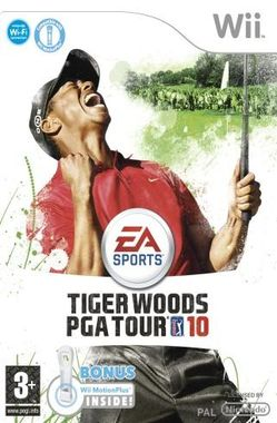 Tiger Woods PGA Tour 10 with Wii Motion Plus