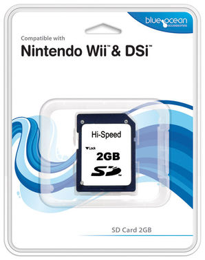2GB SD Memory Card for Wii - BO