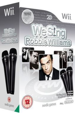 We Sing Robbie Williams with Two Microphones