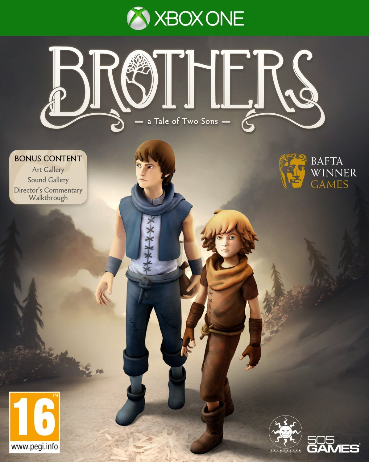brothers a tale of two sons xb1
