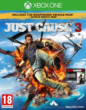 Just Cause 3 Exclusive Edition with Guide to Medici