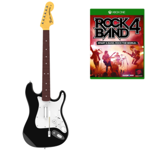 rock band 4 with guitar xbox. Black Bedroom Furniture Sets. Home Design Ideas