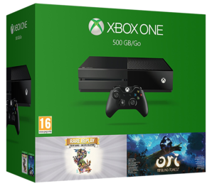 Xbox One 500GB with Ori and Rare Replay