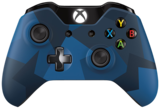 Xbox One Wireless Controller (Blue Camo - Midnight Forces)