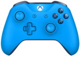 Official Xbox One Wireless Controller (Blue Vortex)