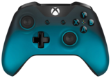 Official Xbox One Wireless Controller (3.5) Ocean Shadow
