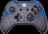 Xbox One Limited Edition Gears of War 4 JD Fenix (Grey/Blue)