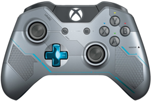Xbox One Limited Edition Halo 5 Controller (Blue & Silver)