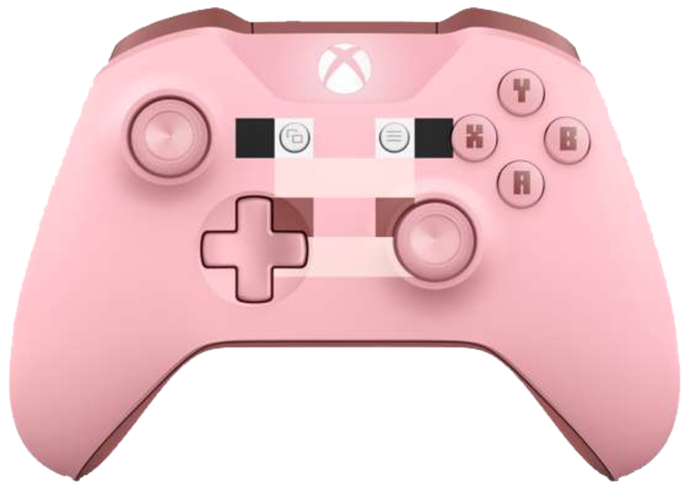Xbox One Special Edition Wireless Controller - Minecraft Pig