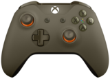 Official Xbox One Wireless Controller (3.5) Green/Orange