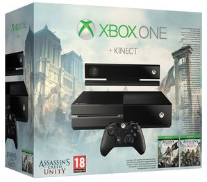 Xbox One Console plus Kinect (Assassins Creed DLC Bundle)