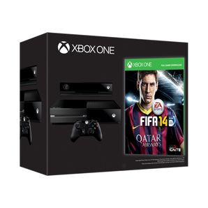 Xbox One Console - 500gb (with Kinect) with FIFA 14