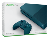 Xbox One S Console Deep Blue (500GB)