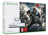 Xbox One S Console White Gears of War Bundle (1TB)