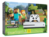 Xbox One S Console White Minecraft Bundle (500GB)