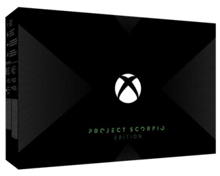 Xbox One X 1TB Console - Project Scorpio Edition