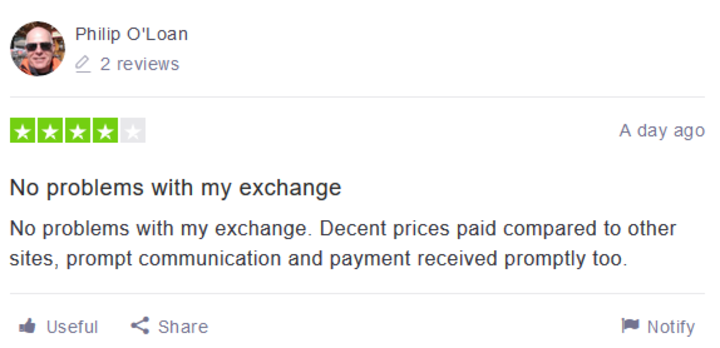 Thanks for the Great GameXchange Review on Trustpilot